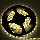 billige LED Strip Lamper-zdm 1pc vanntett ip 65 5m / 16,4 fot 600 led varm hvit 3000-35000k 2835 led lys stripe, 85 lumen per fot. 12v dc tape lys