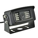 hesapli Araç Arka Görüş Kameraları-CMOS 170 Derece Arka Görüş Kamerası Su Geçirmez Gece görüşü için Otobüs Araba