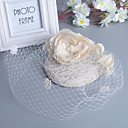 cheap Party Headpieces-Pearl / Feather Fascinators with 1 Wedding / Special Occasion Headpiece