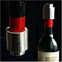 abordables Accesorios de vino-Tapones del Vino Acero inoxidable, Vino Accesorios Alta calidad CreativoforBarware 5.5*4.3*4.3 0.04