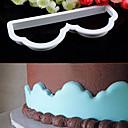 preiswerte Kuchenbackformen-Backwerkzeuge Kunststoff Umweltfreundlich / Heimwerken Kuchen / Plätzchen / Chocolate Cartoon Shaped Backform 1pc
