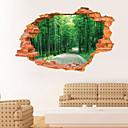 halpa Seinätarrat-Maisema Kasvitiede Wall Tarrat 3D-seinätarrat Koriste-seinätarrat, Vinyyli Kodinsisustus Seinätarra Seinä