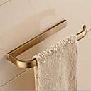 baratos Barras para Toalhas-Barra para Toalha Moderna Latão 1 Pça. - Banho do hotel 1 barra de toalha