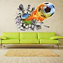 preiswerte Wand-Sticker-Landschaft Romantik Mode Formen Sport 3D Cartoon Design Feiertage Transport Fantasie Wand-Sticker 3D Wand Sticker Dekorative Wand Sticker
