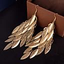 cheap Earrings-Women's Hollow Out Drop Earrings - Silver / Golden For Wedding / Party / Daily
