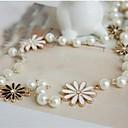 baratos Colares-Mulheres Colares Declaração - Estilo simples, Fashion Dourado Colar Jóias Para