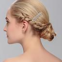 preiswerte Modische Ohrringe-Strass Haarkämme Kopfschmuck