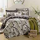 cheap Trend Duvet Covers-Duvet Cover Sets Floral Cotton Reactive Print 4 PieceBedding Sets / 500