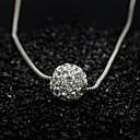 preiswerte Schmuckset-Damen Anhängerketten - Simple Style, Modisch Silber Modische Halsketten Für Besondere Anlässe, Geburtstag, Geschenk