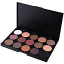 cheap Eyeshadows-15 Colors Eyeshadow Palette / Powders / Bronzers Eye / Face Long Lasting Natural Daily Makeup / Halloween Makeup / Party Makeup Makeup Cosmetic / Matte / Shimmer