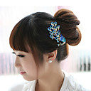 cheap Party Headpieces-Alloy Hair Combs Headwear Hair Tool with Floral 1pc Special Occasion Casual Headpiece