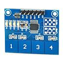 hesapli Sensörler-arduino için kapasitif dokunmatik anahtarı modülü dijital ttp224 4-yönlü dokunmatik sensör