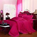 זול כלי אוכל-סטי שמיכה פרחוני 4 חלקים 100% טנסל ג'אקארד 100% טנסל כריות מיטה 2 יחידות כרית מיטה יחידה 1 סדין יחידה 1