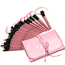 preiswerte Make-up-Pinsel-Sets-32pcs Makeup Bürsten Professional Make - Up Pinselset Künstliches Haar Professionell / vollständige Bedeckung Holz
