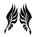 billige Bilklistremerker-Hvit / Svart Bil Klistremerker Kinesisk Stil Ryggespeil-klistremerker Dyr Klistremerker