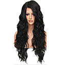 cheap Human Hair Wigs-Human Hair Unprocessed Human Hair Glueless Full Lace Full Lace Wig Brazilian Hair Loose Wave Wig 130% Density with Baby Hair Natural Hairline African American Wig 100% Hand Tied Women's Short Medium