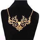 preiswerte Modische Halsketten-Damen Perle Statement Ketten / Perlenkette - Perle Erklärung, Europäisch, Modisch Gold, Silber Modische Halsketten Für Party, Besondere Anlässe, Geburtstag