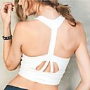preiswerte Wand-Sticker-Damen Ringer-Rücken-Kleid Kurzes Top zum Laufen - Weiß, Schwarz, Rosa Sport Sport-BHs / Tank Tops / Oberteile Ärmellos Sportkleidung
