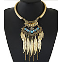cheap Necklaces-Women's Tassel / Bib Statement Necklace - Tassel, European, Fashion Gold, Silver Necklace For