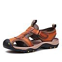 tanie Oksfordki męskie-Męskie Buty Skóra Lato Gore na Atletyczny Casual Na wolnym powietrzu Brown Khaki