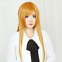 povoljno Anime kostimi-SAO Alicizacija Asuna Yuuki Cosplay Wigs Žene 32 inch Otporna na toplinu vlakna žuta Anime