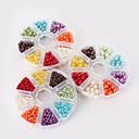 hesapli Boncuklar ve Takı Yapımı-DIY Mücevherat Koraliki İnci Plastik 4 6 8 Round Shape boncuk DIY Kolyeler Bilezikler