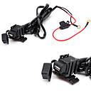 baratos Cabos HDMI-jtron impermeável carro usb telefone / navegação carregador de carro - preto