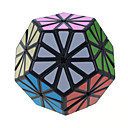 halpa Seinätarrat-Rubikin kuutio Alien Megaminx Tasainen nopeus Cube Rubikin kuutio Puzzle Cube Professional Level Nopeus Lahja Klassinen ja ajaton Tyttöjen