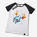 baratos Mochilas e Malas-Inspirado por Vocaloid Hatsune Miku Anime Fantasias de Cosplay Cosplay T-shirt Estampado Manga Curta Camiseta Para Homens Mulheres