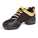 olcso Tánccipők-Női Tánccipők / Báli Szintetikus Sportcipő Lapos Szabványos méret Dance Shoes Fehér / Piros / Arany