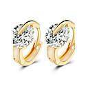 baratos Brincos-Mulheres Brincos Curtos - Fashion, Pedras dos signos Prata / Dourado Para Casamento / Festa / Diário