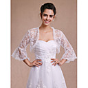cheap Wedding Wraps-Lace Wedding / Party Evening / Casual Women's Wrap With Lace Shrugs
