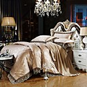 cheap High Quality Duvet Covers-Duvet Cover Sets Luxury Silk / Cotton Blend Jacquard 4 PieceBedding Sets / >800