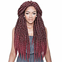 preiswerte Haarzöpfe-Geflochtenes Haar Klassisch Twist Braids / Echthaar Haarverlängerungen 1pc / pack, 12 Wurzeln / Packung Haar Borten Alltag