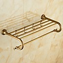 cheap Bathroom Shelves-Bathroom Shelf Antique Brass 1 pc - Hotel bath Double