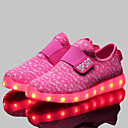 baratos Sapatos de Menina-Homens / Mulheres / Para Meninos Sapatos Sintético Primavera Conforto / Inovador / Tênis com LED Tênis Velcro para Vermelho / Rosa / Azul