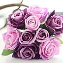 cheap Artificial Flower-Artificial Flowers 1 Branch Flower Roses Tabletop Flower