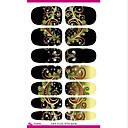 voordelige Watertransfer nagelstickers-1 pcs Nagel kunst Manicure pedicure Schattig Modieus Dagelijks / PVC