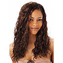 cheap Synthetic Capless Wigs-Synthetic Wig Kinky Curly Style Capless Wig Brown Brown Synthetic Hair Women's Brown Wig
