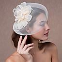 billige Bryllupsstrømpebånd-Tyl / Blonde / Fjer fascinators / Hovedtøj med Blomster 1pc Bryllup / Speciel Lejlighed Medaljon