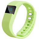 baratos Pulseiras Smart & Monitores Fitness-TW64 Monitor de Atividade / Alça de Punho / Pulseira inteligente iOS / Android / iPhone Controlador de Tempo / Impermeável / Relogio Despertador Sensor de Gravidade Preto / Laranja / Azul / AMOLED
