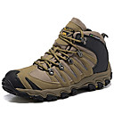 cheap Men's Slip-ons & Loafers-Men's Hiking Shoes Trail Running Shoes Nappa Leather Khaki