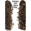 cheap Hair Pieces-Ponytails Synthetic Hair Hair Piece Hair Extension Curly