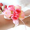 preiswerte Hochzeitsblumen-Hochzeitsblumen Armbandblume / Einzigartiges Hochzeits-Dekor Besondere Anlässe / Party / Abend Perlen / Satin / Baumwolle 0-20cm