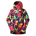 cheap Working Laptop-GSOU SNOW Women's Ski Jacket Windproof Waterproof Thermal / Warm Ski / Snowboard Winter Sports Polyester Winter Jacket Ski Wear / Breathable / Breathable