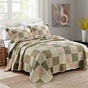 billige Quilts og sengetepper-Komfortabel Vanlig 100% Bomull Bomull Vanlig 100% Bomull Bomull Kviltet Geometrisk