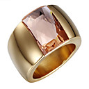 cheap Rings-Women's Crossover Band Ring - 18K Gold Plated, Zircon, Cubic Zirconia Luxury, Vintage, Fashion 6 / 7 / 8 Silver / Golden For Wedding / Party / Daily / Casual