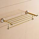 billige Vandhaner til badeværelset-Badeværelseshylde Moderne Messing 1 stk - Hotel bad Dobbelt