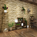povoljno Lusteri-3D Početna Dekoracija Suvremena Zidnih obloga, PVC/Vinil Materijal Ljepila potrebna tapeta, Soba dekoracija ili zaštita za zid
