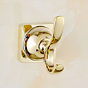 cheap Toilet Paper Holders-Robe Hook Contemporary Brass 1 pc - Hotel bath